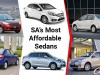 6 Most Affordable Sedans in SA