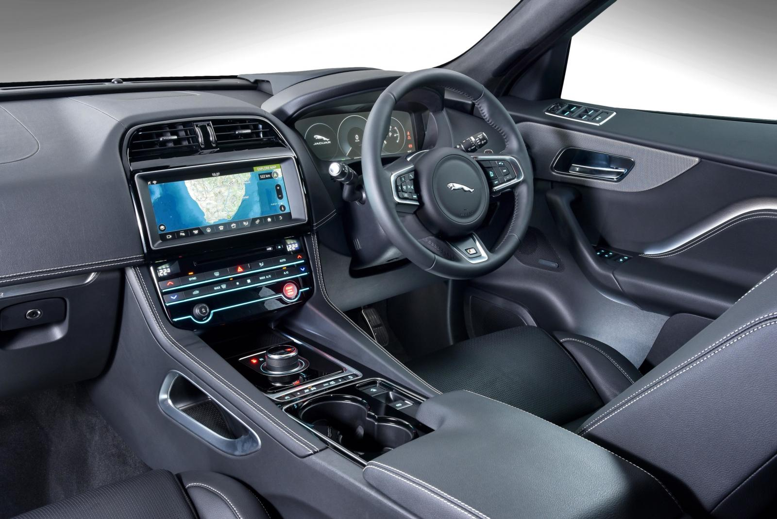 The Jaguar F PACE, The First SUV Produced By The Coventry Based Luxury  Marque And A Runner Up In The Premium SUV Category Of The 2016/17  Cars.co.za Consumer ...