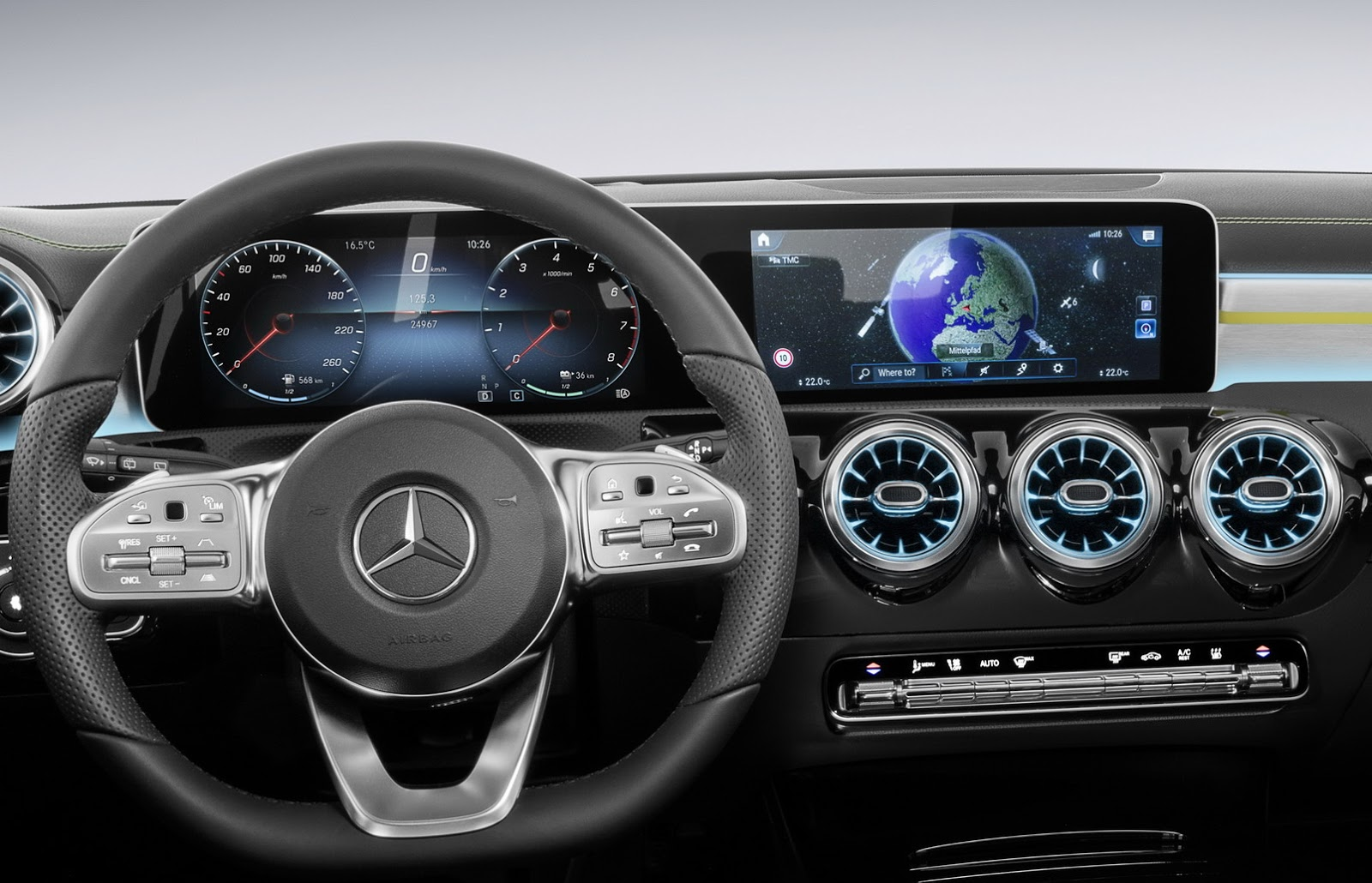 Update new mercedes benz a class interior revealed cars for Mercedes vito interieur