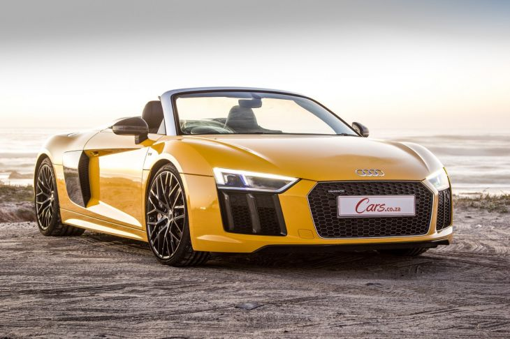 Audi r8 v10 spyder manual review 10