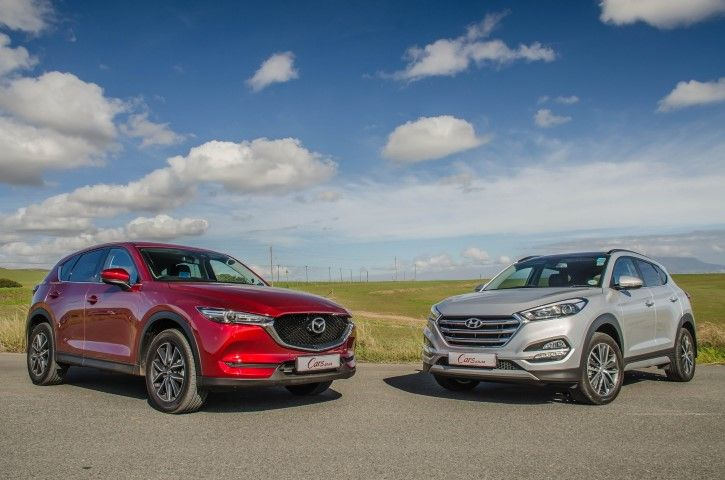 Comparative Review Mazda Cx 5 2 2de Awd Akera Vs Hyundai